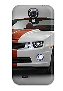 Galaxy S4 Case Cover - Slim Fit pc Protector Shock Absorbent Case (chevrolet2)