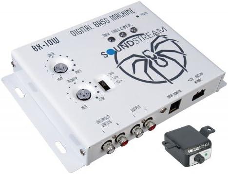 White Soundstream BX-10W Digital Bass Reconstruction Processor with Remote