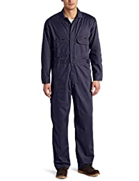 Key Apparel mens Flame Resistant Long Sleeve Deluxe Unlined Coverall