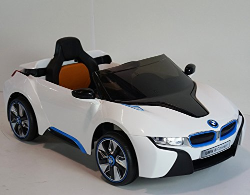 New License Bmw I8 Concept 12v Kids Ride On Battery Powered Import