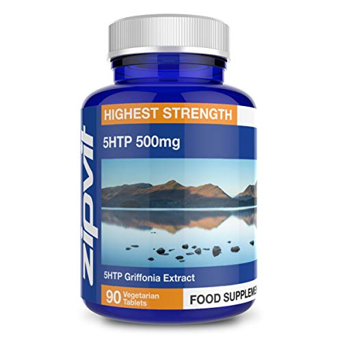 5 HTP Griffonia Seed Extract 500mg, 90 5HTP Tablets. Suitable for Vegetarians and Vegans.
