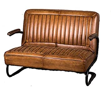 Fine Peppermill Two Seater Leather Car Seat Style Sofa Vintage Gmtry Best Dining Table And Chair Ideas Images Gmtryco