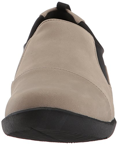 Clarks Womens Cloudsteppers Sillian Paz Slip-on Nubuck Synthétique De Sable De Mocassin