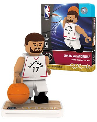 OYO Sports NBA Minifigure Toronto Raptors Jonas Valanciunas