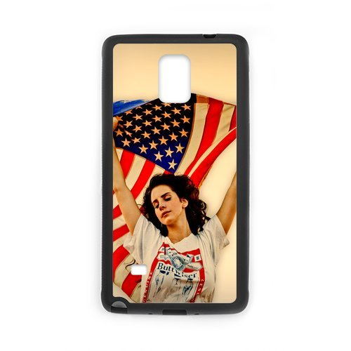Fayruz- Personalized Lana Del Rey Protective Hard Rubber Phone Case for Samsung Galaxy Note 4 Note4 Cover I-N4O865