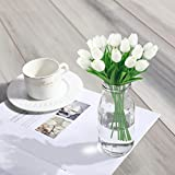 10PCS Artificial Tulips Flowers Mini Real Touch