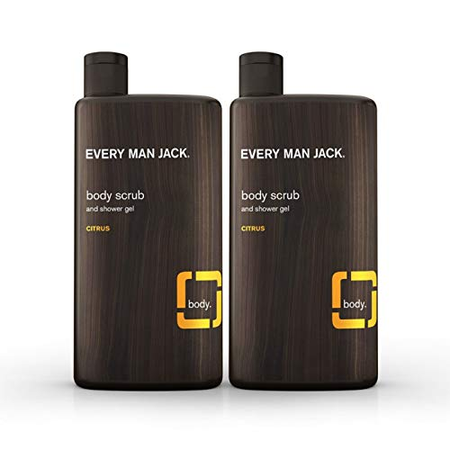 Every Man Jack Body Wash, Citrus, 16.9-ounce (Twin Pack)