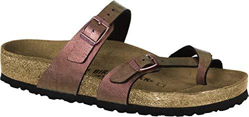 4620b6220 Birkenstock Womens Mayari Graceful GEMM Red Regular Fit Sandals Size 5