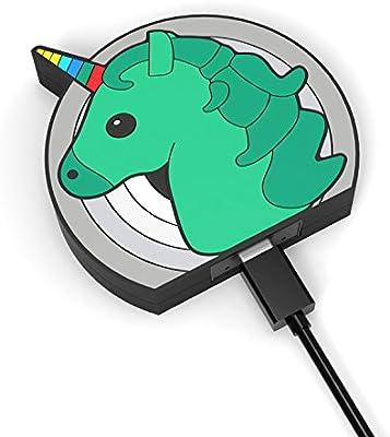 Amazon.com: hinax unicornio Cargador inalámbrico almohadilla ...