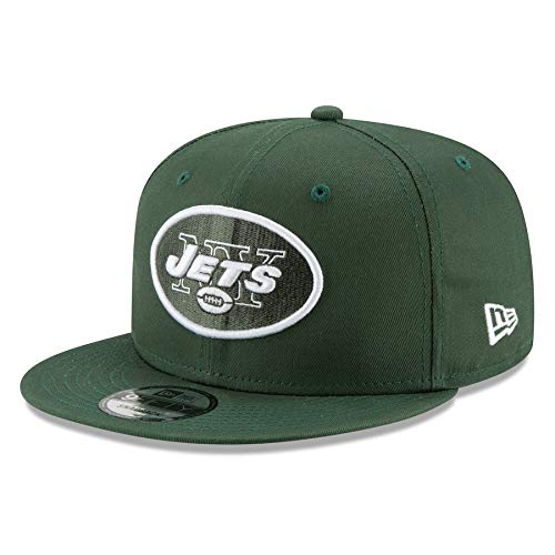 Nfl Hat New York Jets - New Era New York Jets Hat NFL Hunter Green 9FIFTY Snapback Adjustable Cap Adult One Size