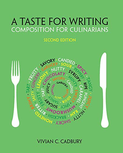 Pdf Reference A Taste for Writing: Composition for Culinarians