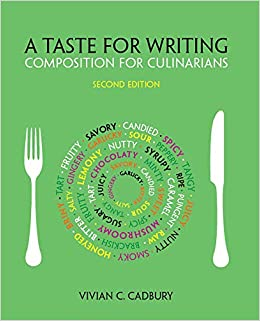 amazon a taste for writing composition for culinarians vivian c