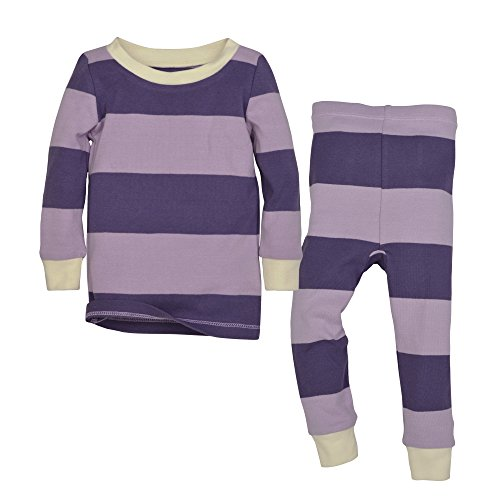 Burt's Bees Baby Unisex Pajamas, 2-Piece PJ Set, 100% Organic Cotton (12 Mo-7 Yrs),