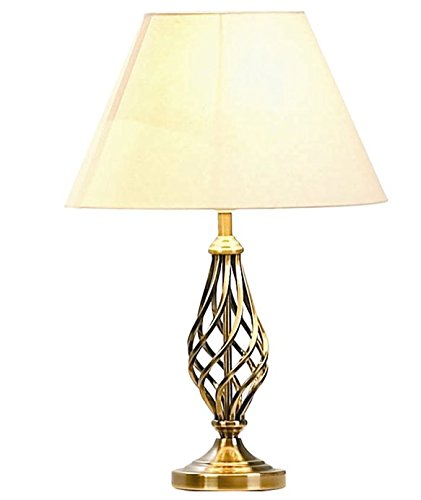 Barley Twist Table Lamp Finish Antique Brass