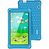 AOSON M751-S2 7 Inch kids Tablet PC, Android 5.1 Lollipop Quad-core, IPS HD Touch Screen, 1GB RAM 8GB Storage, Kids APPS Iwawa Kidoz Dual Camera Bluetooth Wi-Fi Supported