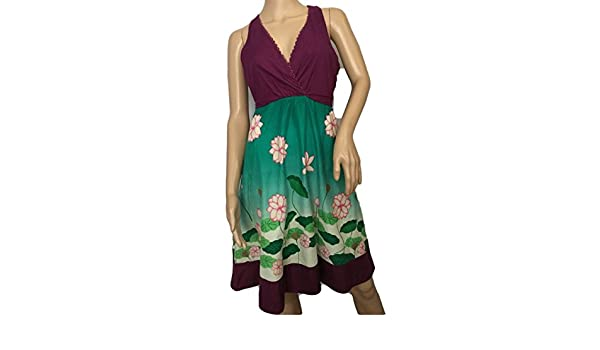 Anthropologie Moulinette Soeurs Lily Pond Floral Dress Sz 6 P at Amazon Womens Clothing store: