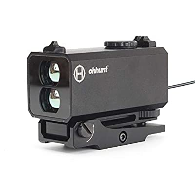 ohhunt IP4 Waterproof Rangefinder 5-700M for Hunting Optics Sight Outdoor Scope LE032 Mini Range Finder with 21mm Rail from ohhunt