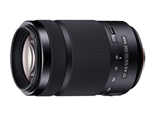 Sony 55-300mm DT f/4.5-5.6 SAM Telephoto Zoom A-Mount Lens