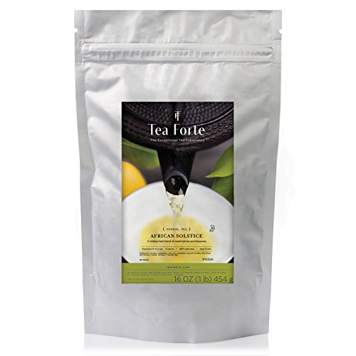 Tea Forté ONE POUND POUCH, Loose Bulk Tea - African Solstice Herbal - Solstice Service Customer