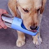 TRUE LOVE Dog Water Bottle for Walking, Portable