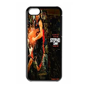 LSQDIY(R) Stephen Curry iPhone 5C Case Cover, Customized iPhone 5C Cover Case Stephen Curry