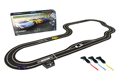 Scalextric ARC Pro App Race Control Sunset Speedway Slot Car Digital 1:32 Race Track Set C1388T