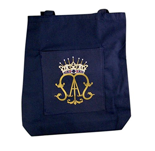 Ave Maria, Recycled Nylon Tote Bag, 14 1/2 Inch