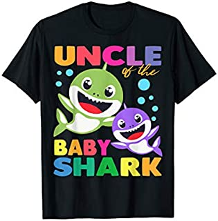 [Featured] Uncle Of The Baby Shark Birthday Uncle Shark in ALL styles | Size S - 5XL