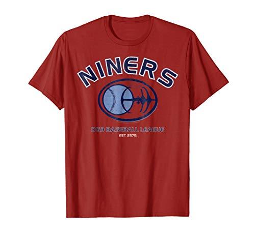 Star Trek DS9 Niners Baseball League Logo Graphic -