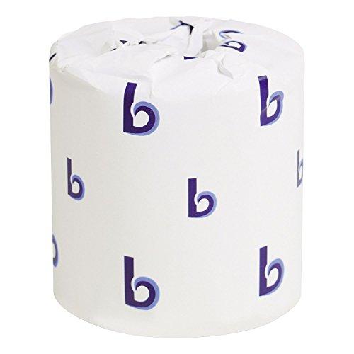 Product of Boardwalk Economy Bath Tissue, 2-Ply (500 Sheets, 96 Rolls) - Toilet Paper [Bulk ()