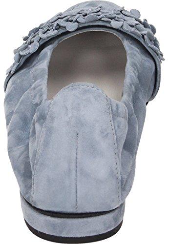 Kennel & Schmenger Damen Ballerina - Bailarinas de Piel Para Mujer Azul Cielo Cielo