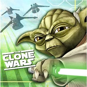 "Clone Wars - Opposing Forces 10"" Beverage Napkin - 16/Pkg."