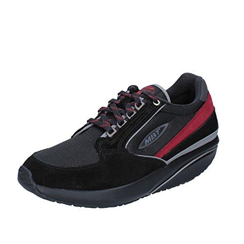 MBT 1996 BR Sneakers Uomo 40 EU Nero Camoscio Tessuto • Dynamic