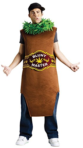 Blunt Costumes (UHC Men's Blunt Master Cannibis Joint Outfit Funny Comical Theme Party Costume, OS)