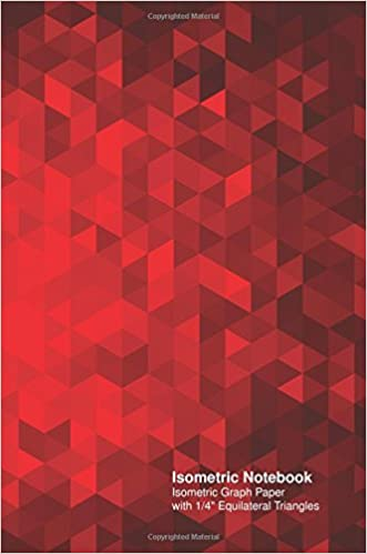 isometric notebook isometric graph paper with 1 4 equilateral