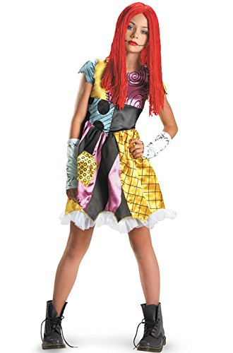 [Disguise Costumes Sally Tween Costume, Large] (Christmas Dresses For Tweens)