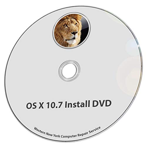 (Mac OS X 10.7 Lion Full OS Install - Reinstall/Recovery Upgrade Downgrade/Repair Utility Core 2 Duo Factory Reset Disk Drive Disc CD DVD Restore Tool Disk)