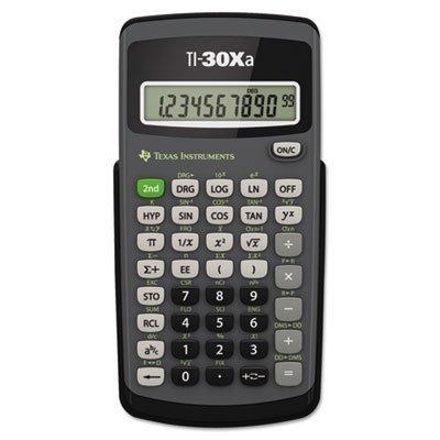 TI-30Xa Scientific Calculator, 10-Digit LCD, Total 6 EA, Sold as 1 Carton by Texas Instruments