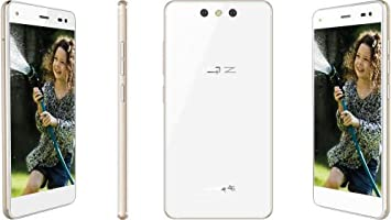 i-mobile IQ Z Pro 5.5 Inch FHD 1920 * 1080 Android 5.1 Unlocked 4G LTE Smartphone 3GB/32GB 1.5GHz Octa Core gsm/WCDMA Dual SIM Dual Standby Mobile Phone with 13MP Camera (White): Amazon.es: