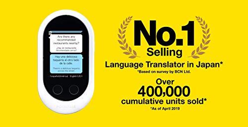 Pocketalk Language Translator Device - Portable Two-Way Voice
