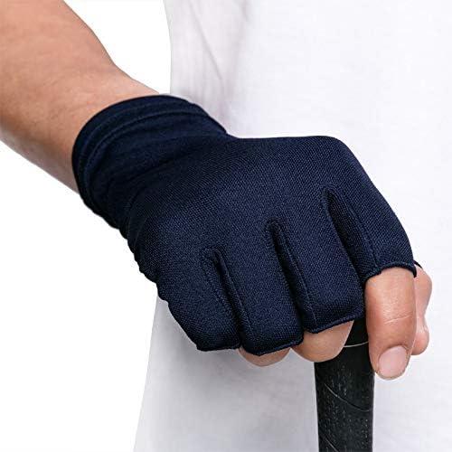 Swftc Guantes de conducción con medio dedo sin dedos for hombre ...