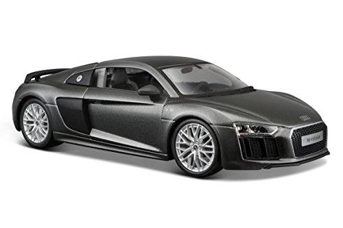 Maisto 1:24 Scale Audi R8 V10 Plus, Colors May (Plus Scale)