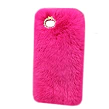 Galaxy S8 Plus Case,Jennyfly 6.2 inch Women Fashion Smooth Soft Furry Protection Phone Case Anti-Scratch Protective Slim Phone Case Cover Compatible with 2017 Samsung Galaxy S8 Plus - Rose Pink