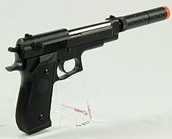 Double Eagle M22 Silenced Pistol fps-300 Airsoft Gun(Airsoft Gun)
