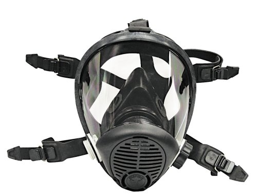 Survival Air Systems 9814 06 Large Opti Fit Multi Use Full Face Respirator