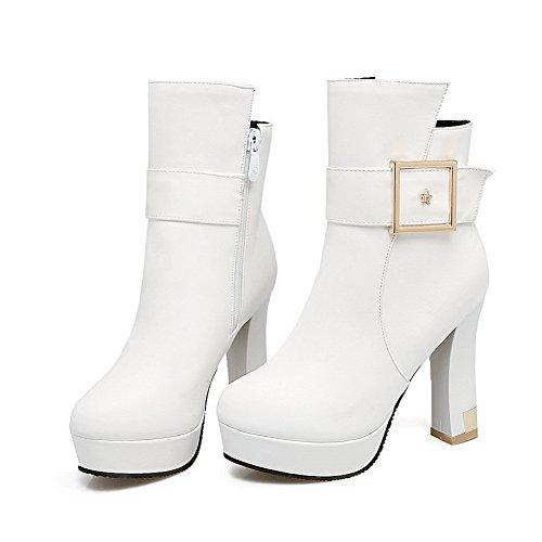 Balamasaabl09474 - Sandalias Con Cuña Para Mujer, Blancas (blanco), 35 Eu