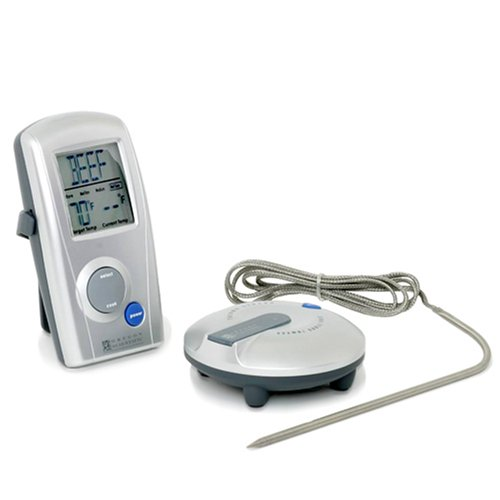Oregon Scientific AW129 Wireless BBQ Thermometer with Probe Thermometer and Remote by Oregon Scientific