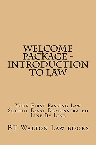 New To The Study Of Law - e law reading: Help@californiaBarHelp.com