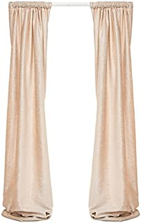 product image for Glenna Jean Florence Lined Drapery Panels Set, Cream