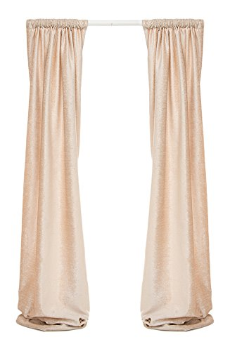 Florence Panel - Glenna Jean Florence Lined Drapery Panels Set, Cream